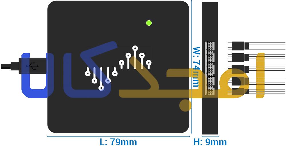 DSLogic 16 size